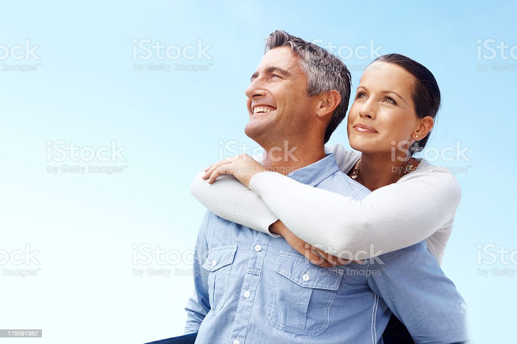 Ready to achieve our dreams stock photo
