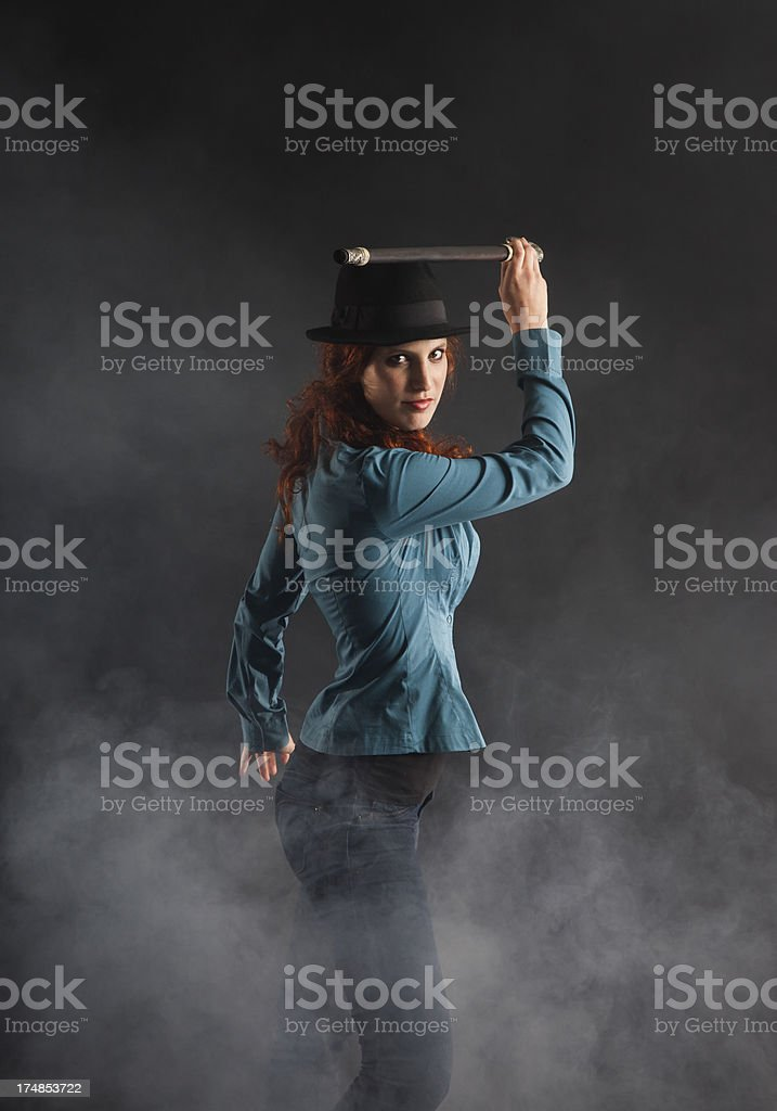 Ready to attack royalty-free stock photo