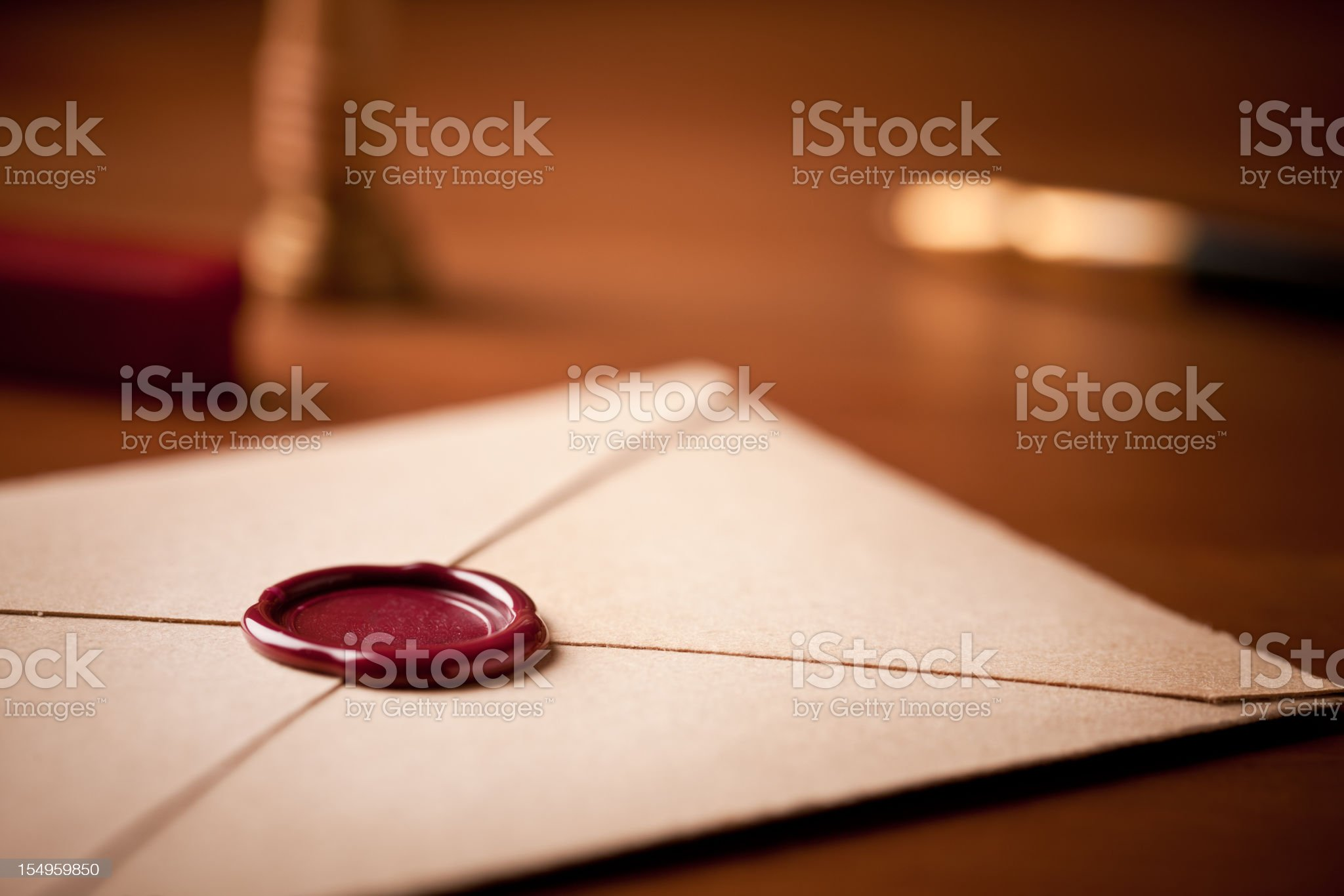 Ready to be sent royalty-free stock photo