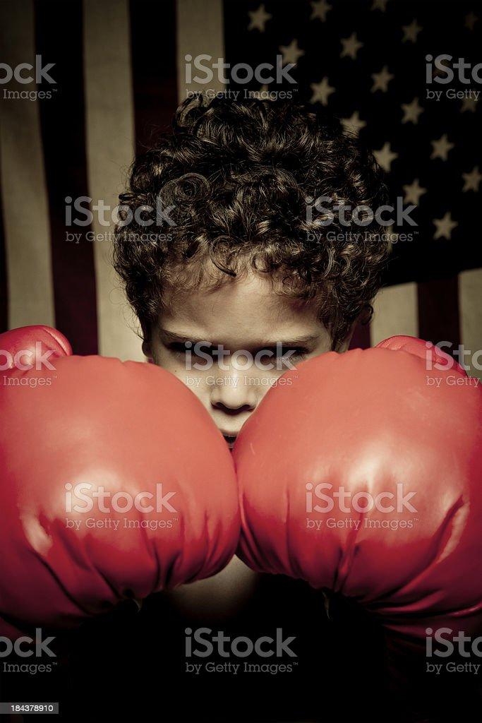 Ready to box royalty-free stock photo