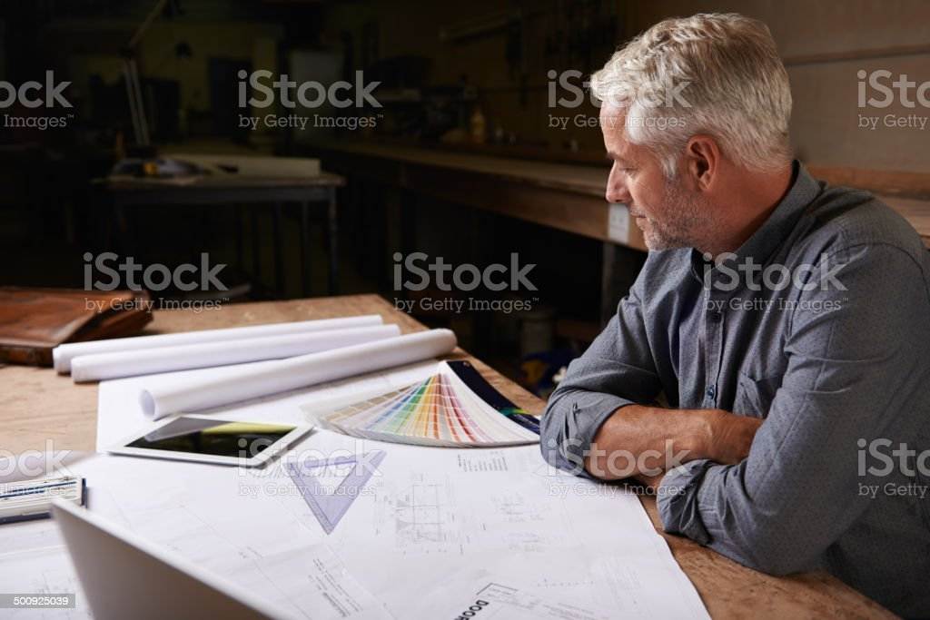 Ready to call it a day stock photo