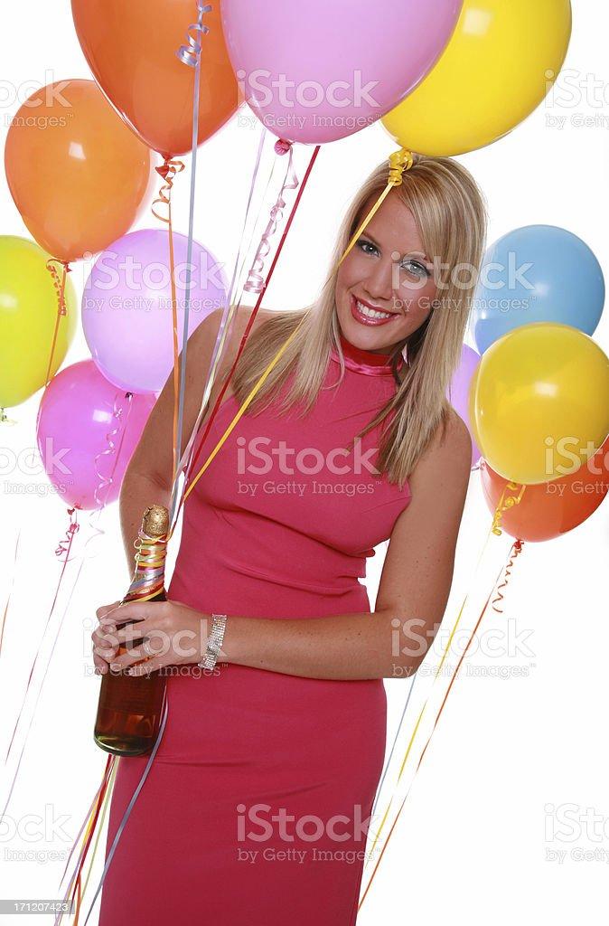 Ready To Celebrate royalty-free stock photo