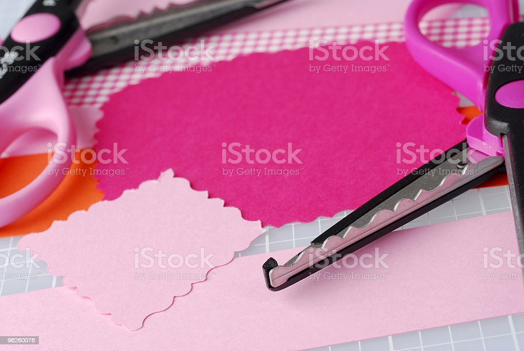 Ready to Cut stock photo