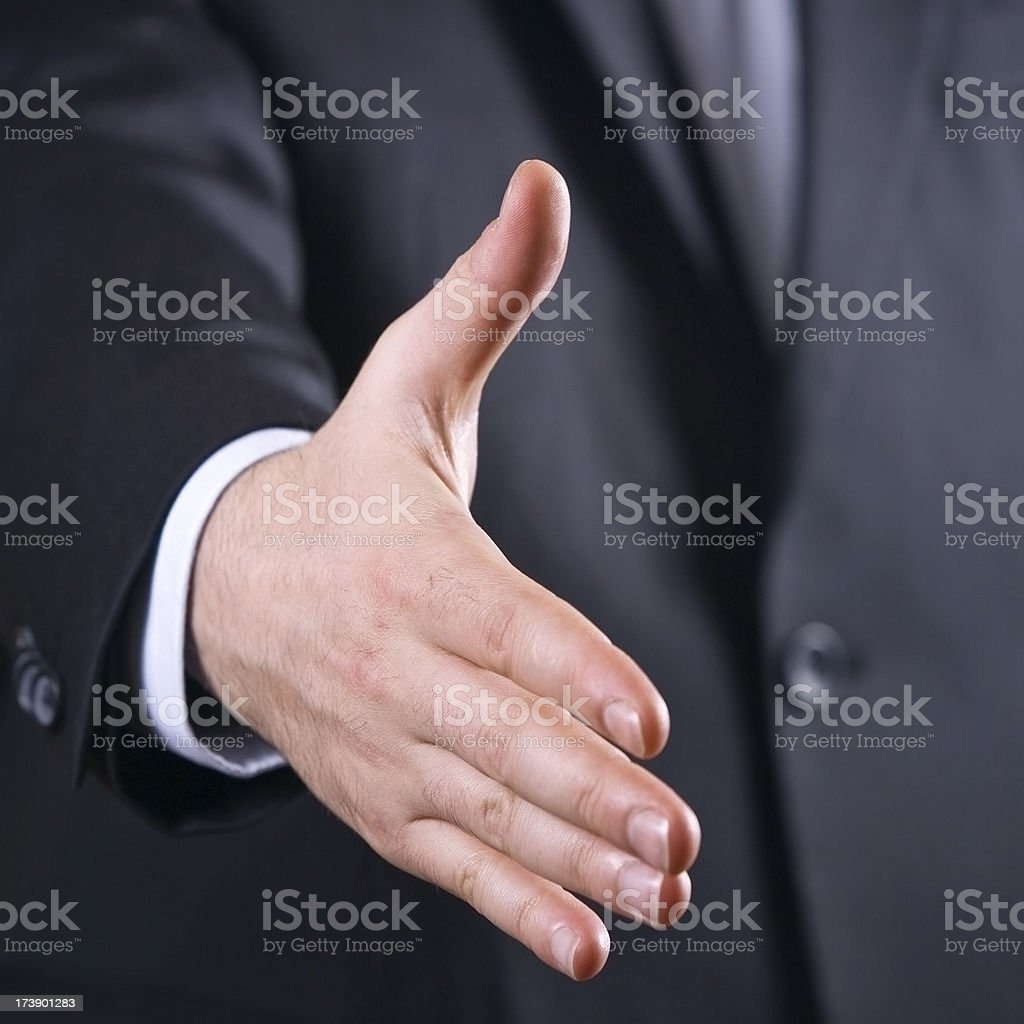 ready to deal !!! royalty-free stock photo