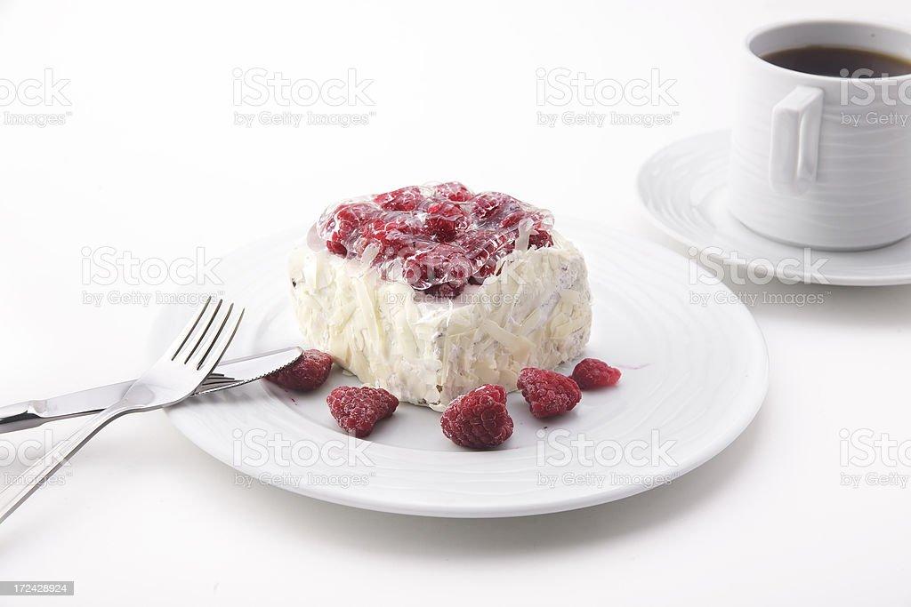 ready to eat Blueberry cheesecake royalty-free stock photo