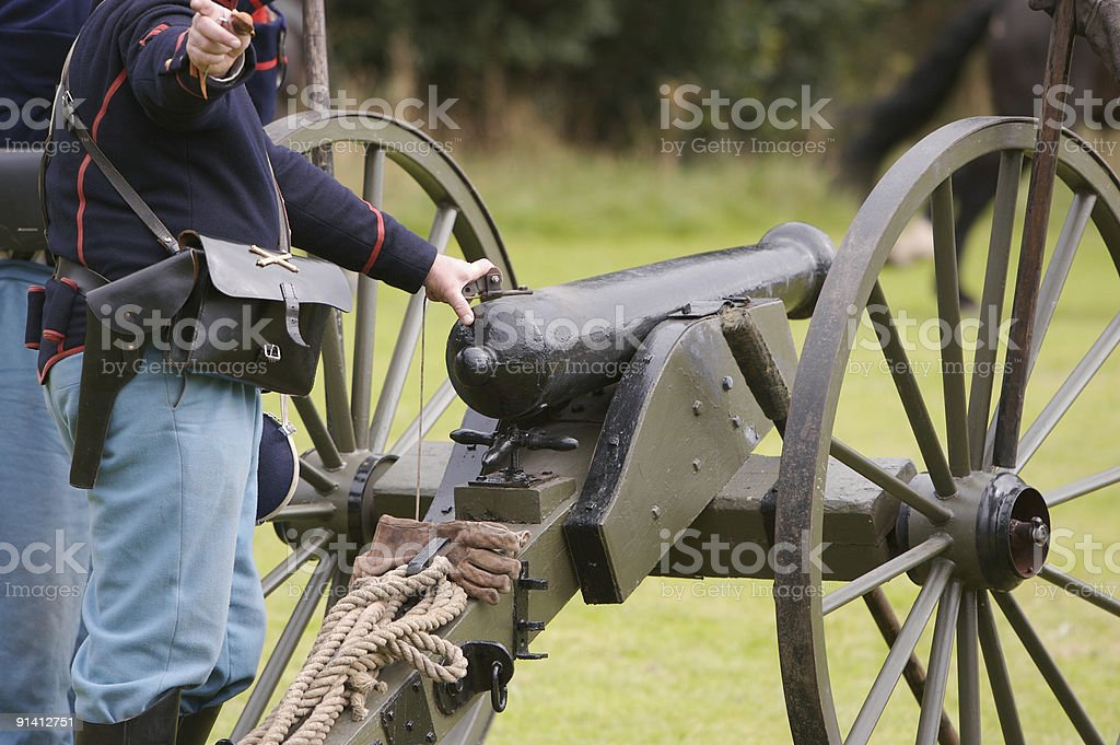 Ready to Fire ! stock photo