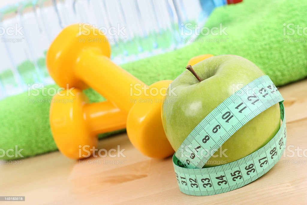 ready to fitness royalty-free stock photo