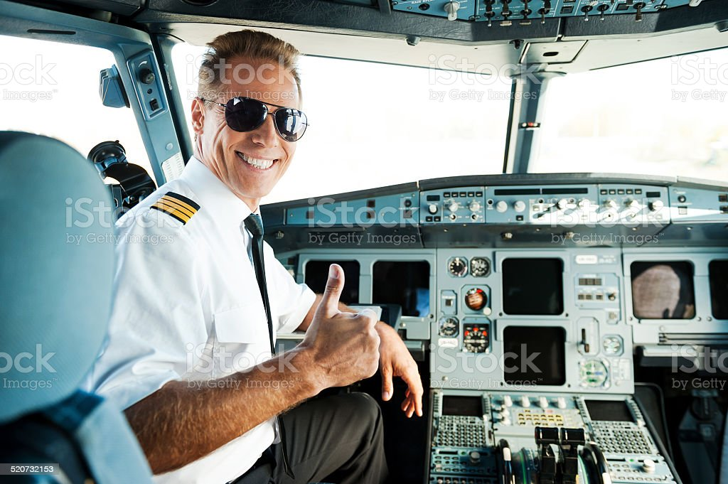 Ready to flight. stock photo