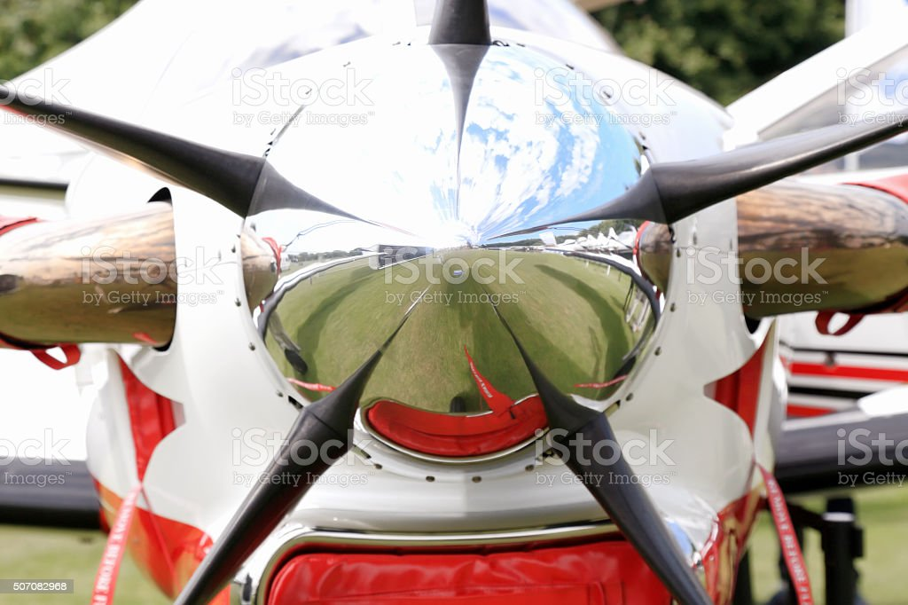 Ready to fly stock photo