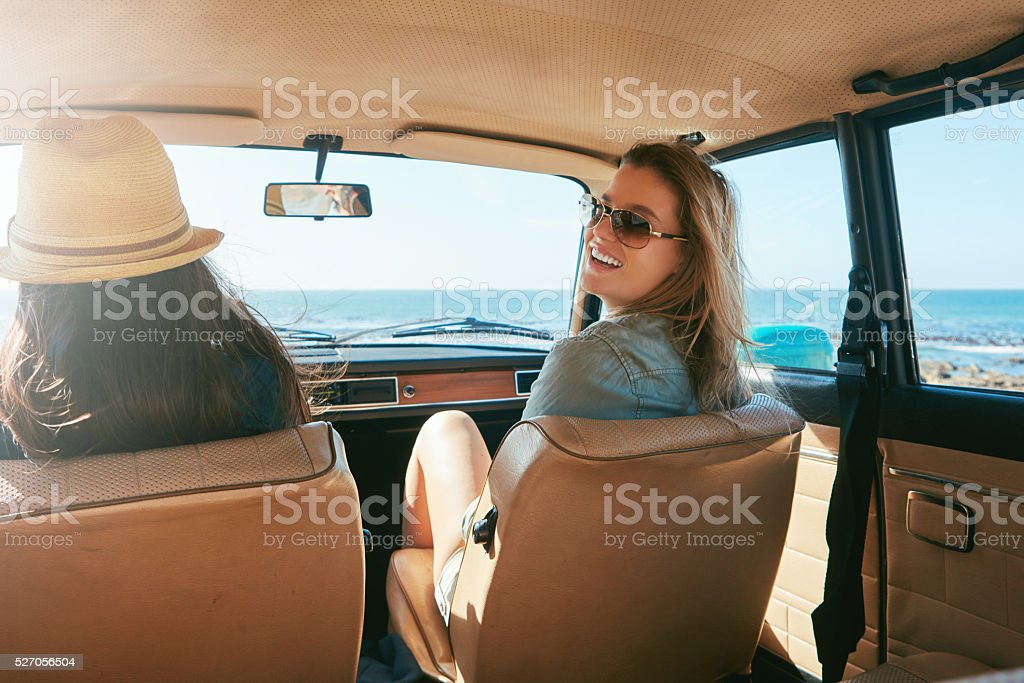 Ready to for a road trip? stock photo