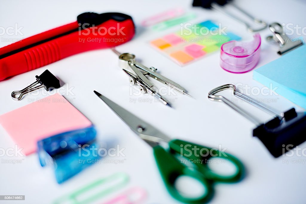Ready to get creativity stock photo