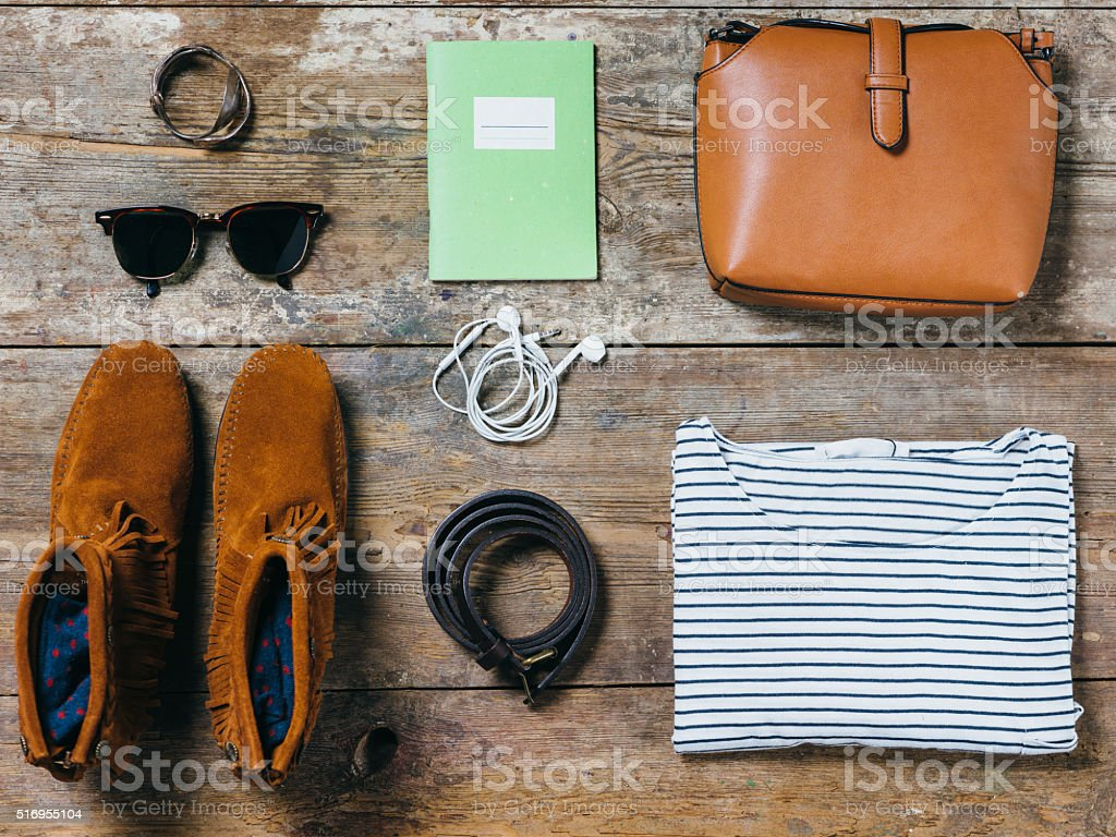Ready To Go Out - Female Edition stock photo