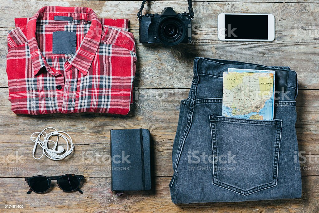 Ready To Go Out - Male Edition stock photo