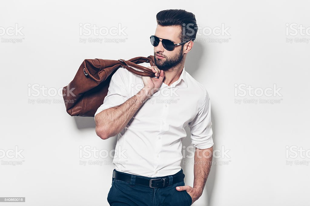 Ready to go. stock photo