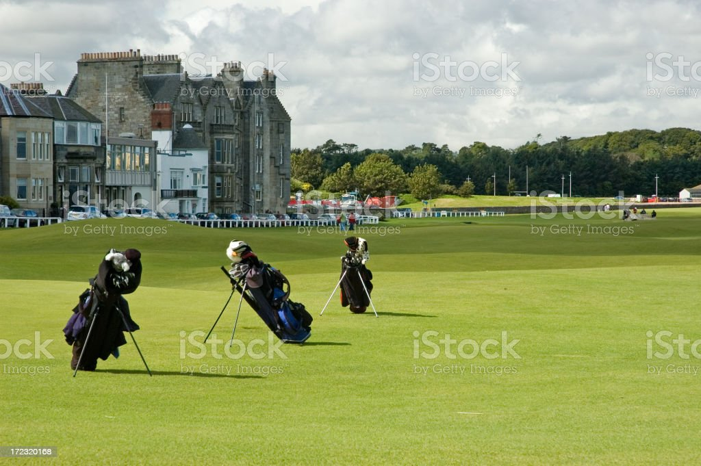 Ready to Golf royalty-free stock photo