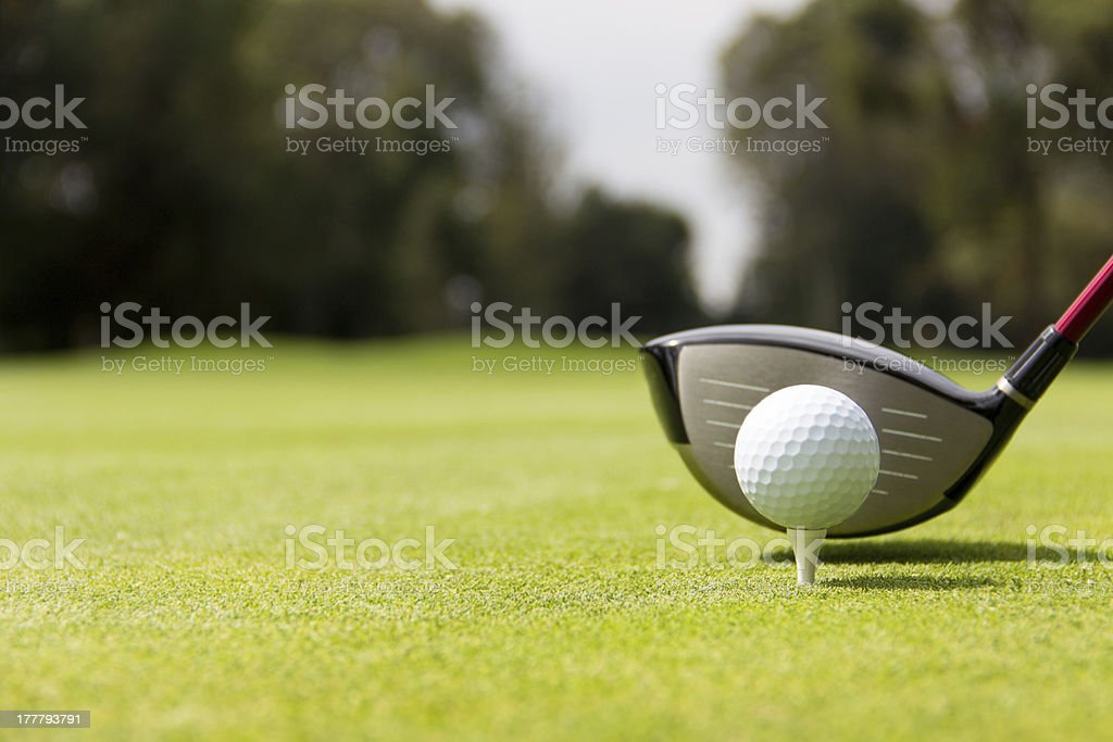 Ready to hit the ball royalty-free stock photo