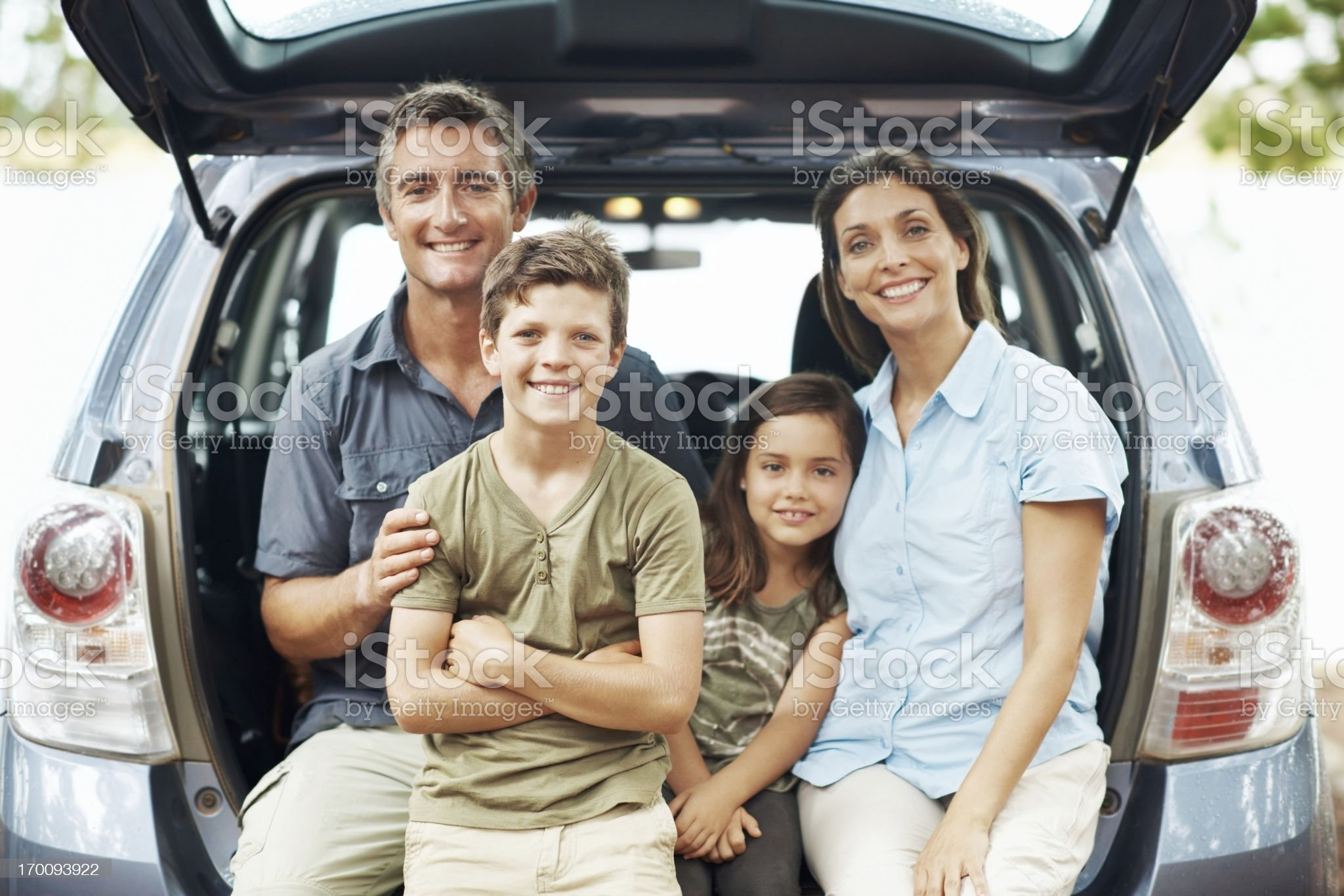 Ready to hit the road royalty-free stock photo