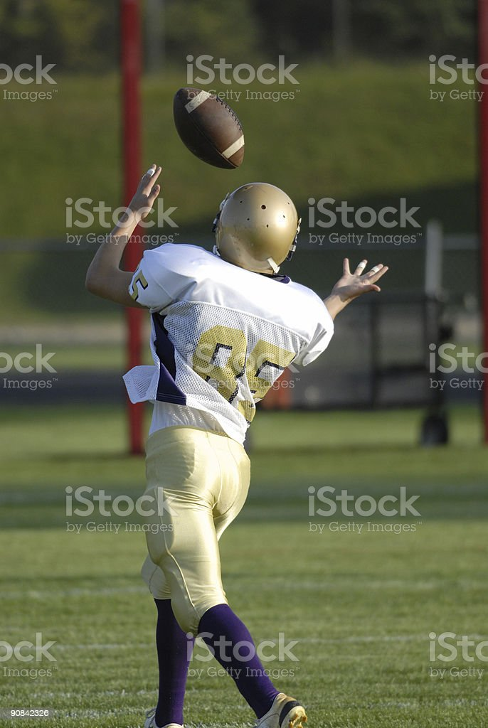 Ready to make a great catch stock photo