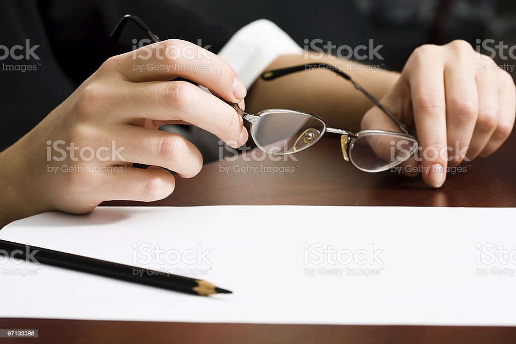 Ready to outline royalty-free stock photo