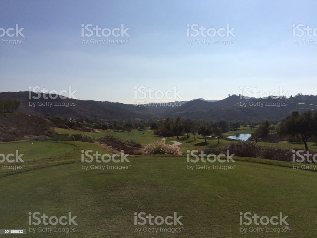 Ready to Play Golf stock photo
