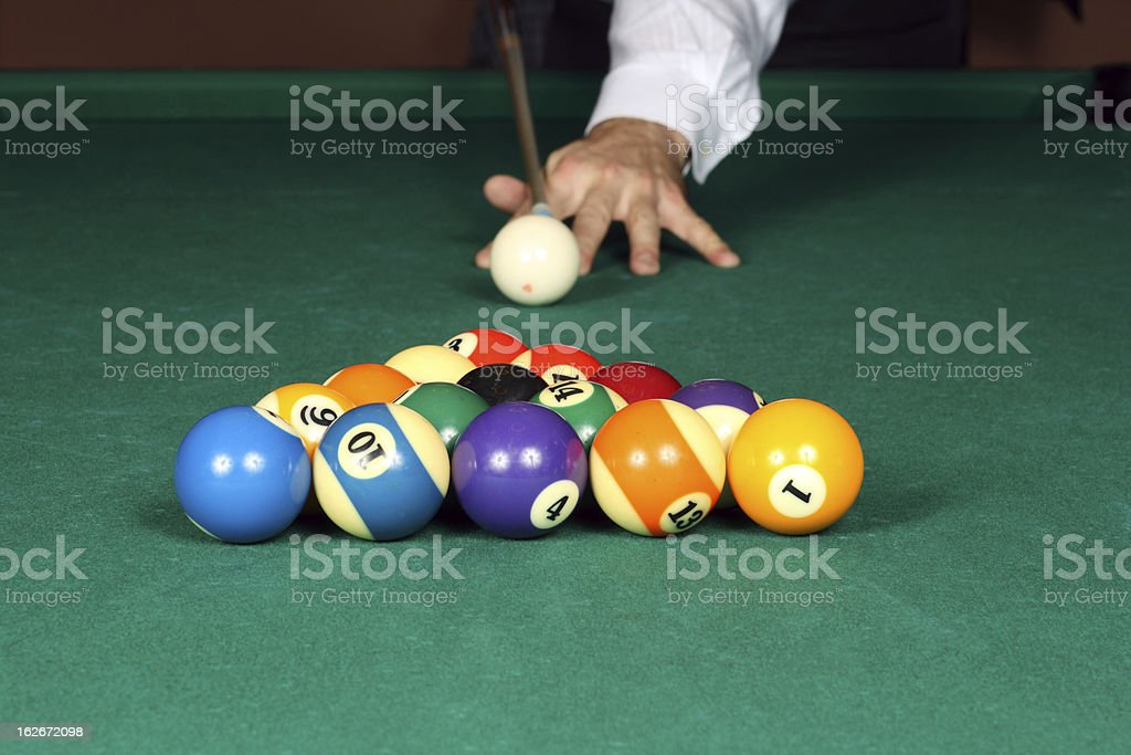 Ready to play stock photo