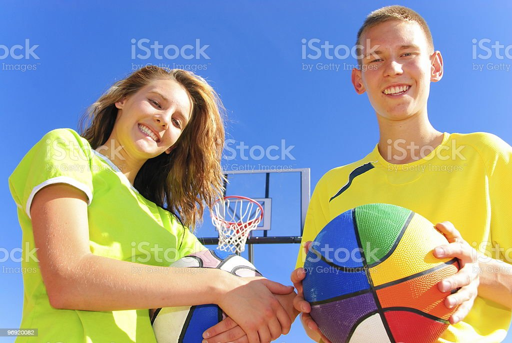 Ready to play royalty-free stock photo