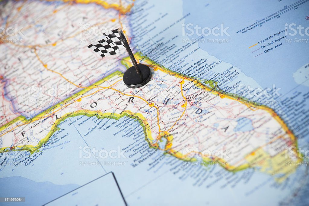 Ready to race in Florida? stock photo