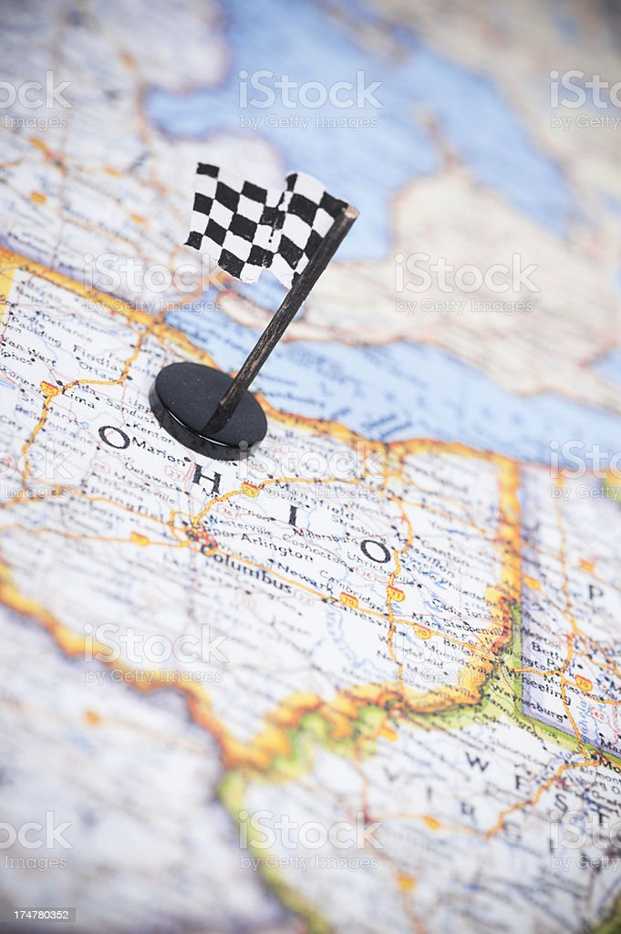 Ready to race in Ohio? stock photo