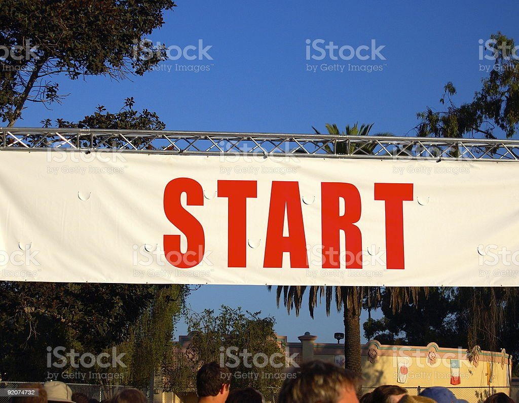 Ready to Race royalty-free stock photo