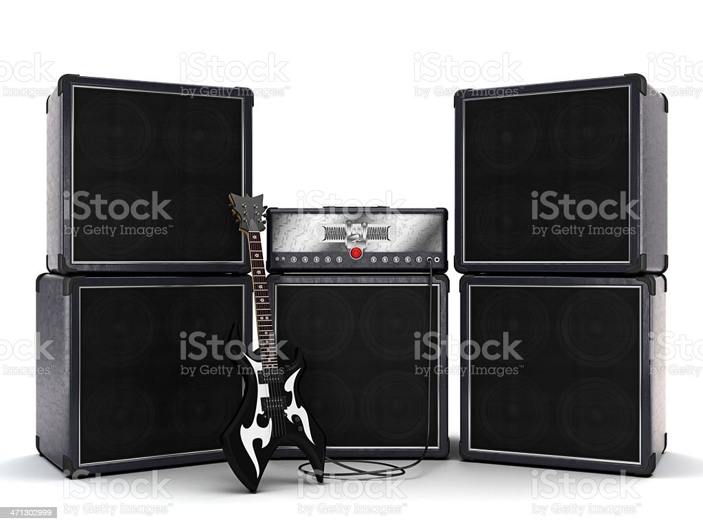 Ready to rock! stock photo