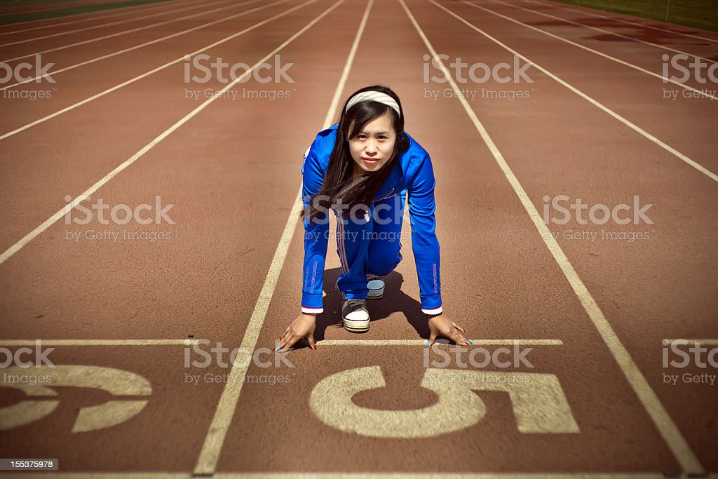 ready to run stock photo