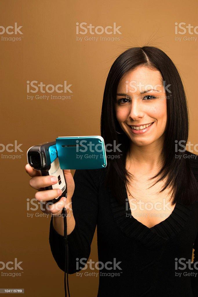 Ready to Shoot royalty-free stock photo