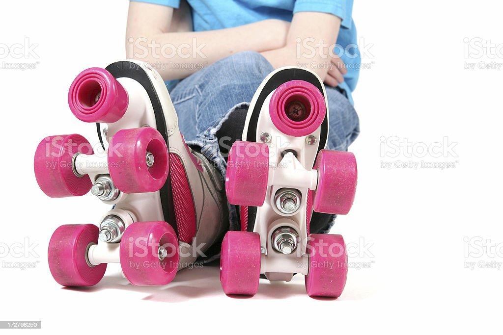 Ready to Skate royalty-free stock photo
