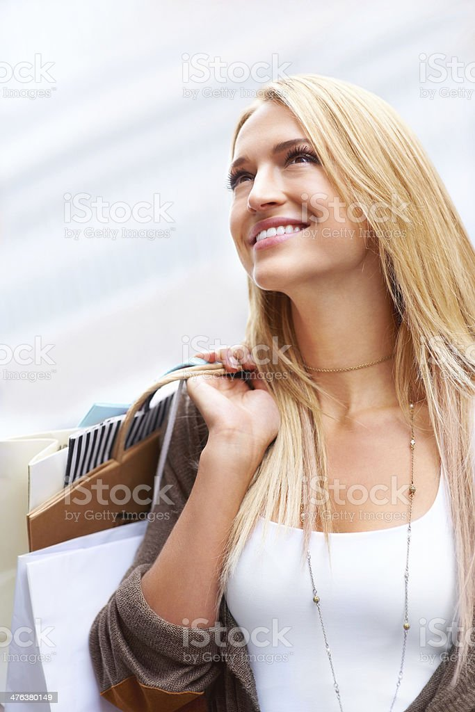 Ready to spend more money royalty-free stock photo