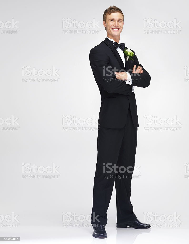Ready to take my vows stock photo