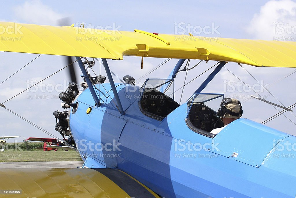 Ready to take off? stock photo