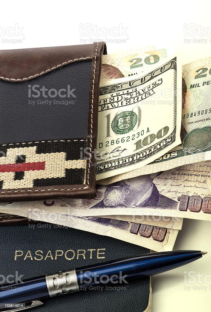 Ready to travel royalty-free stock photo