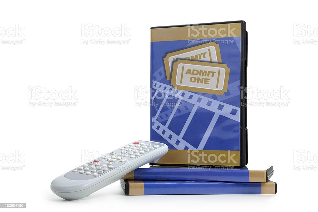 Ready to Watch royalty-free stock photo