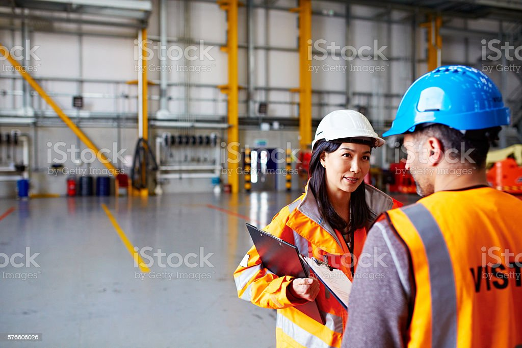 Readying for the next shipment stock photo