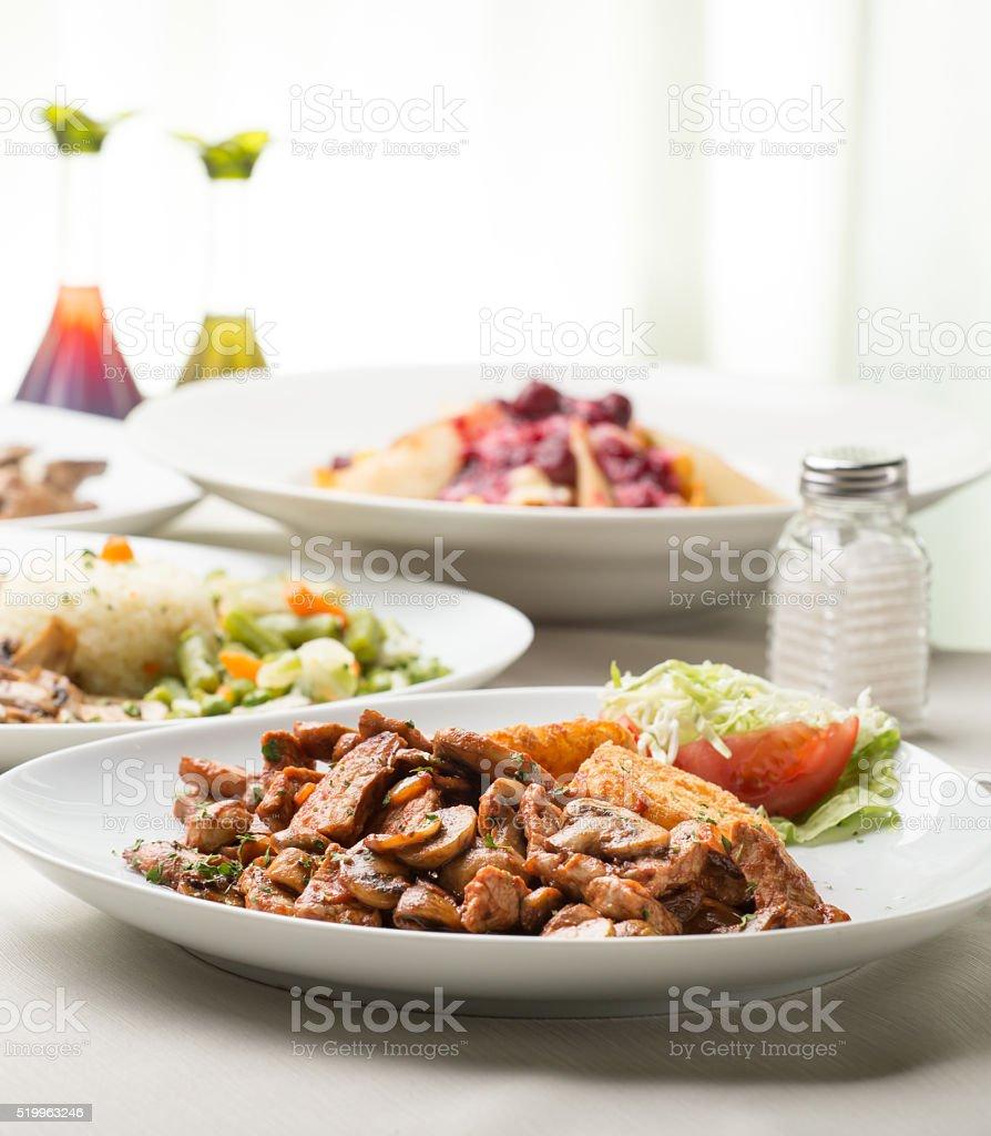 Ready-to-eat stock photo