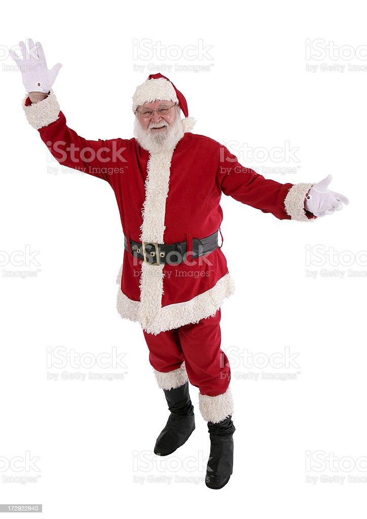Real Bearded Santa royalty-free stock photo