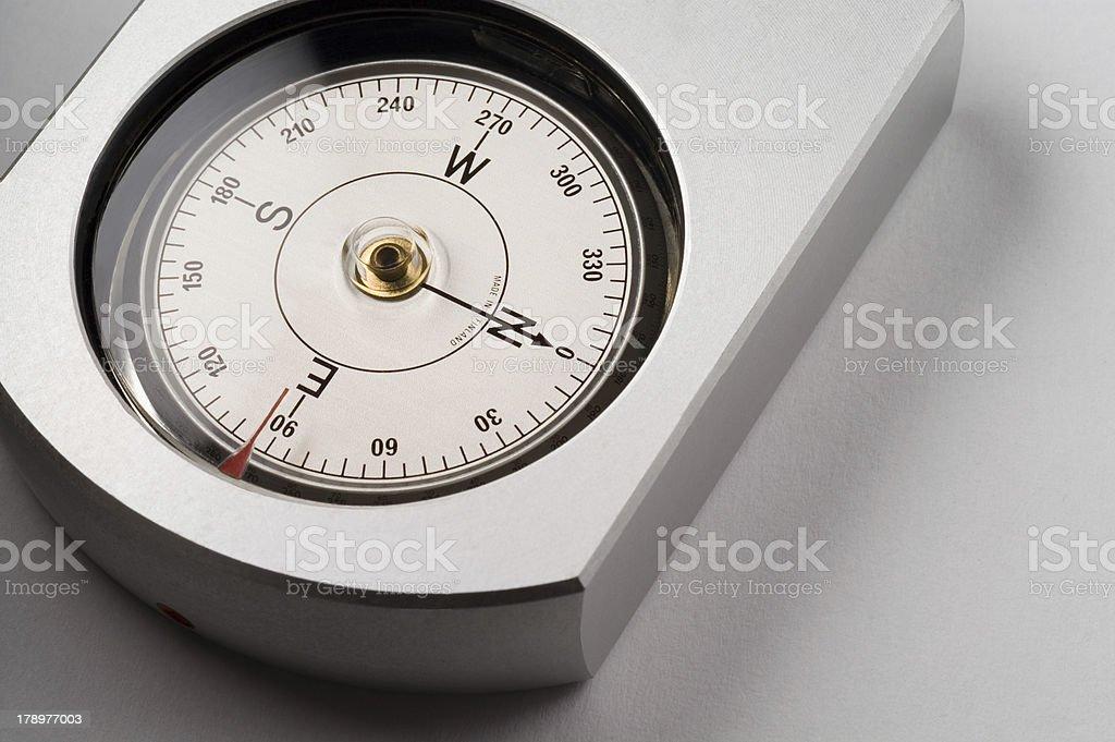 Real bearing compass royalty-free stock photo