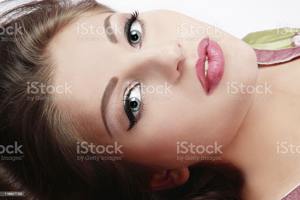 Real beauty stock photo