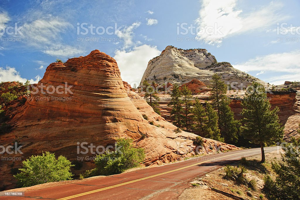 Real Butte stock photo