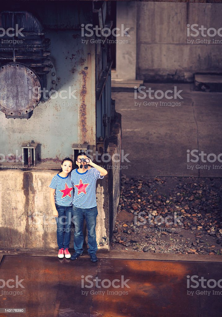 Real chinese rebellions stock photo