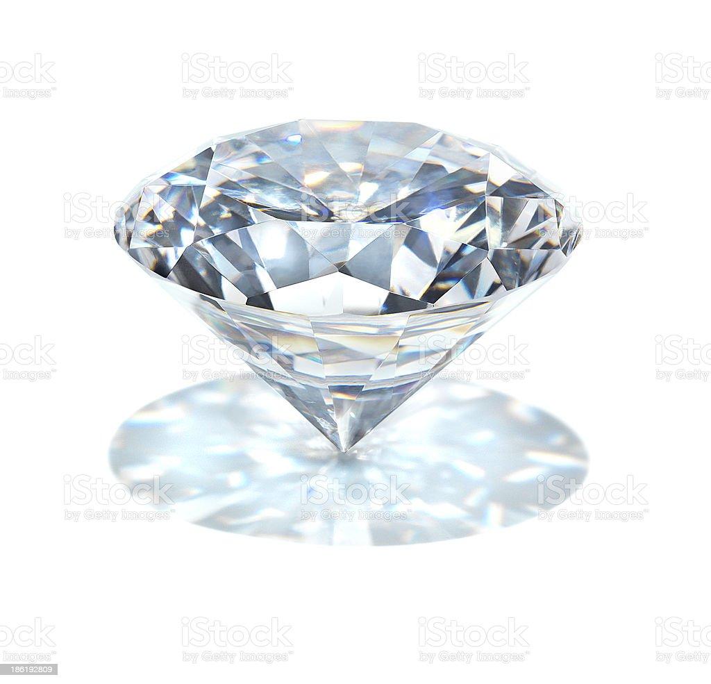 real diamond royalty-free stock photo