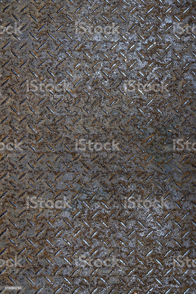 Real diamond plate steel background royalty-free stock photo