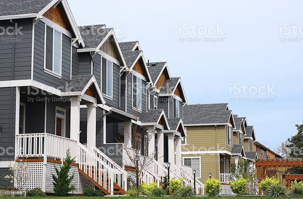 Real estate 7 stock photo