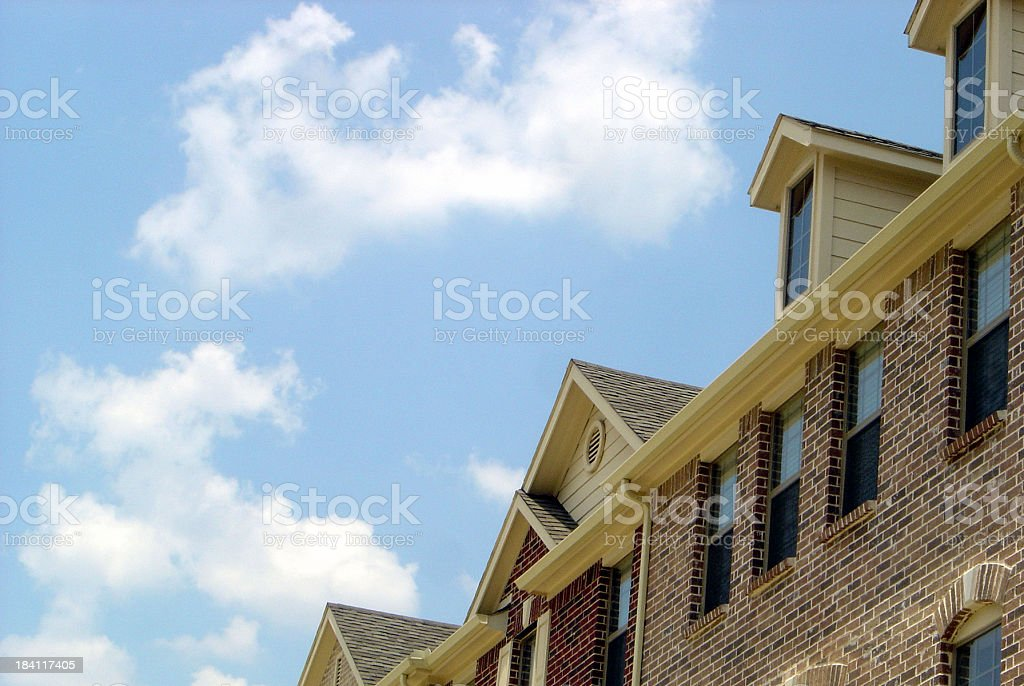 Real Estate Brochure royalty-free stock photo