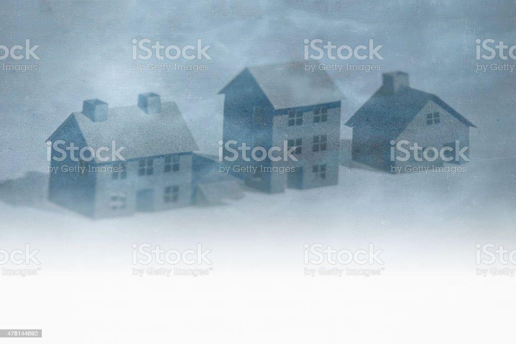 Real estate burst stock photo